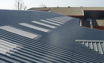 Roofing Services - Built up Profiled Roofing