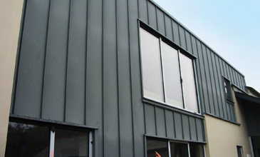 Exterior Cladding For Industrial Buildings