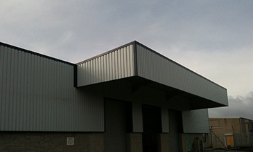 Treliske Industrial Estate After Build